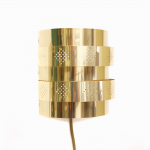 Brass sconces by Werner Schou for Coronell