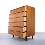 Vintage Danish chest of 6 drawers